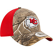 New Era Men's Kansas City Chiefs Real Tree Neo 39Thirty Camouflage Stretch Fit Hat