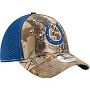 New Era Men's Indianapolis Colts Real Tree Neo 39Thirty Camouflage Stretch Fit Hat