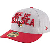 New Era Men's Arizona Cardinals 2018 NFL Draft 59Fifty Fitted Grey Hat