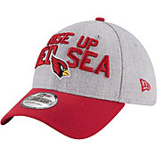 New Era Men's Arizona Cardinals 2018 NFL Draft 39Thirty Stretch Fit Grey Hat
