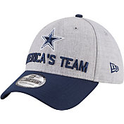 New Era Men's Dallas Cowboys 2018 NFL Draft 39Thirty Stretch Fit Grey Hat