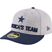 New Era Men's Dallas Cowboys 2018 NFL Draft 59Fifty Fitted Grey Hat
