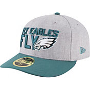 New Era Men's Philadelphia Eagles 2018 NFL Draft 59Fifty Fitted Grey Hat