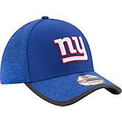 New Era Men's New York Giants 2017 Training Camp 39Thirty Blue Stretch Fit Hat