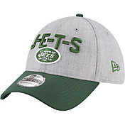 New Era Men's New York Jets 2018 NFL Draft 39Thirty Stretch Fit Grey Hat