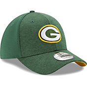 New Era Men's Green Bay Packers Shadow 39Thirty Stretch Fit Hat