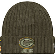 New Era Men's Green Bay Packers Salute to Service 2017 Knit Hat