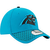 New Era Men's Carolina Panthers Sideline 2017 On-Field 39Thirty Stretch Fit Hat