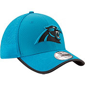 New Era Men's Carolina Panthers 2017 Training Camp 39Thirty Blue Stretch Fit Hat
