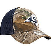 New Era Men's Los Angeles Rams Real Tree Neo 39Thirty Camouflage Stretch Fit Hat