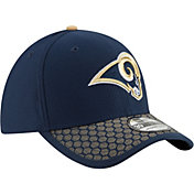 New Era Men's Los Angeles Rams Sideline 2017 On-Field 39Thirty Stretch Fit Hat