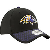 New Era Men's Baltimore Ravens Sideline 2017 On-Field 39Thirty Stretch Fit Hat
