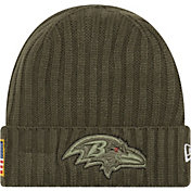 New Era Men's Baltimore Ravens Salute to Service 2017 Knit Hat