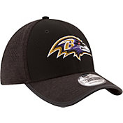 New Era Men's Baltimore Ravens 2017 Training Camp 39Thirty Black Stretch Fit Hat