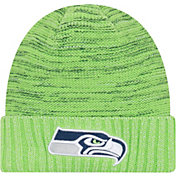 New Era Men's Seattle Seahawks Color Rush 2017 On-Field Knit Hat
