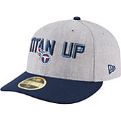 New Era Men's Tennessee Titans 2018 NFL Draft 59Fifty Fitted Grey Hat
