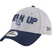 New Era Men's Tennessee Titans 2018 NFL Draft 39Thirty Stretch Fit Grey Hat