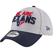 New Era Men's Houston Texans 2018 NFL Draft 39Thirty Stretch Fit Grey Hat