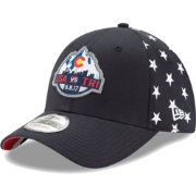 New Era Men's USA 39Thirty Duel Structured Navy Stretch Fit Hat