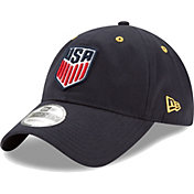 New Era Men's USA 9Twenty Snake Crest Navy Adjustable Hat