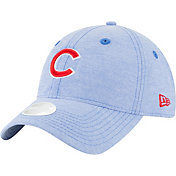 New Era Women's Chicago Cubs 9Twenty Team Linen Adjustable Hat