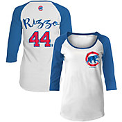 New Era Women's Chicago Cubs Anthony Rizzo #44 Three-Quarter Sleeve Shirt