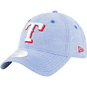 New Era Women's Texas Rangers 9Twenty Team Linen Adjustable Hat
