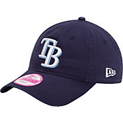 New Era Women's Tampa Bay Rays 9Twenty Essential Navy Adjustable Hat