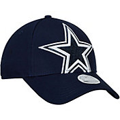 New Era Women's Dallas Cowboys Glitter Glam Navy Adjustable Hat
