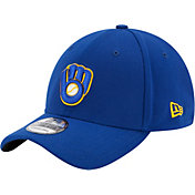 New Era Youth Milwaukee Brewers 39Thirty Stretch Fit Hat