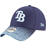 New Era Youth Tampa Bay Rays 9Forty Visor Blur Adjustable Hat