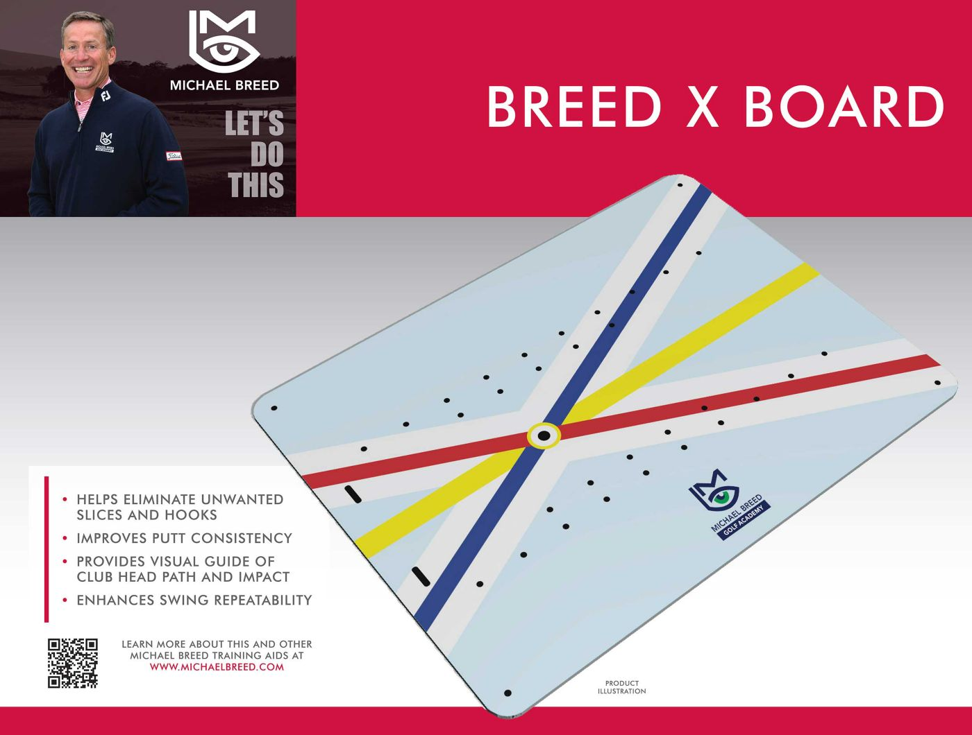 Michael Breed X Board Training Aid