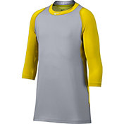 Nike Men's Pro Cool Reglan ¾-Sleeve Baseball Shirt