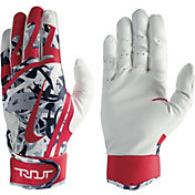 Nike Youth Trout Edge Camo Batting Gloves