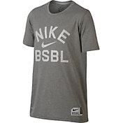 Nike Boy's Dry Baseball Training T-Shirt