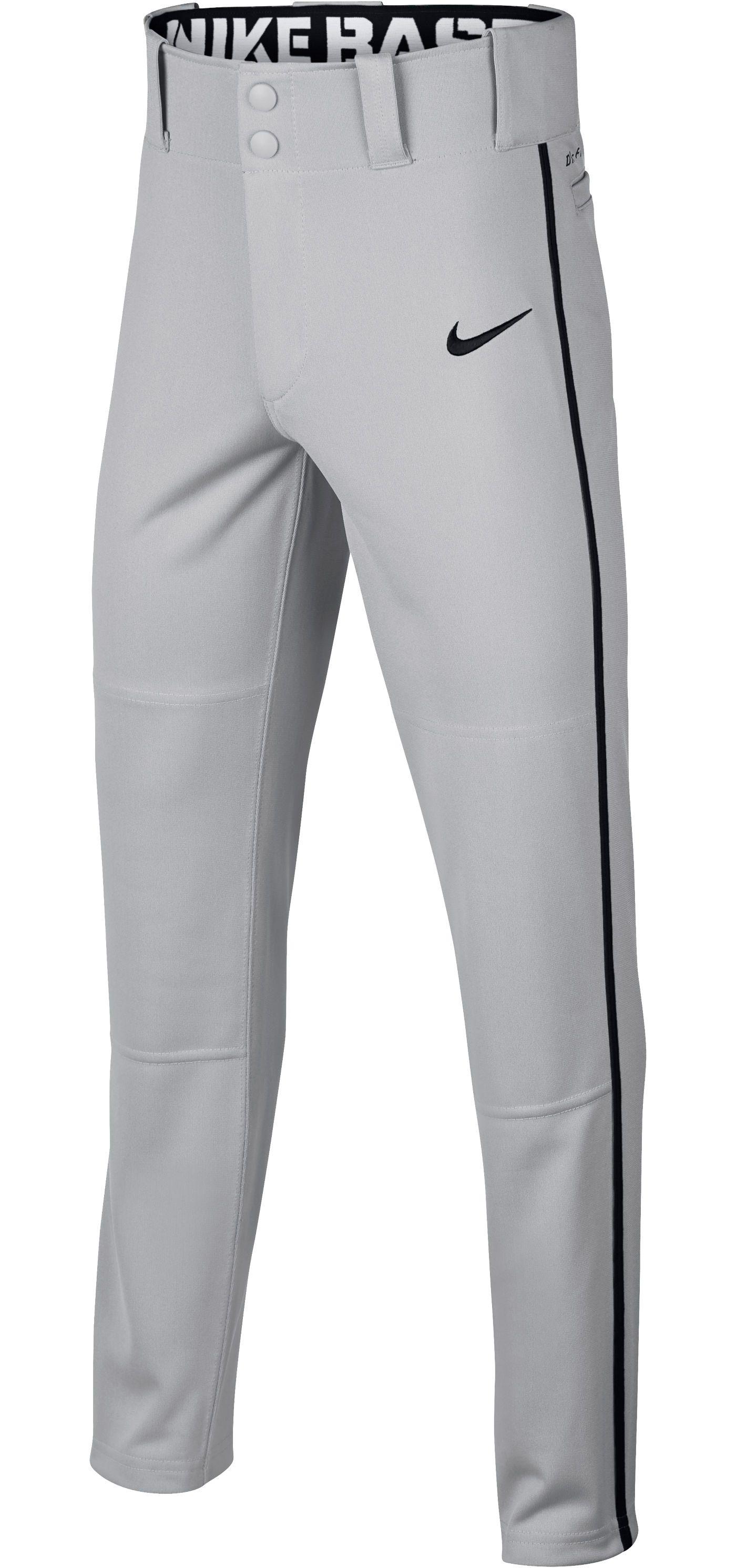 Nike Boys' Swoosh Piped Dri-FIT Baseball Pants