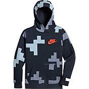 Nike Boys' Sportswear Printed Hoodie