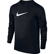 Nike Boys' Dry Training Long Sleeve T-Shirt