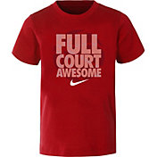 Nike Little Boys' Dry Full Court Awesome Graphic Basketball T-Shirt