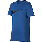 Nike Boys' Heather Legend Graphic T-Shirt