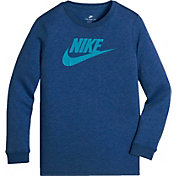 Nike Boys' Sportswear Dry Futura Long Sleeve Shirt