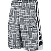 Nike Boys' Dry Elite Stripe Basketball Shorts
