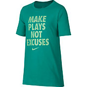 Nike Boy's Dry Make Plays Graphic T-Shirt