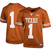 Nike Boys' Texas Longhorns #1 Burnt Orange Game Football Jersey