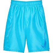 Nike Boys' Big Swoosh 9'' Volley Shorts