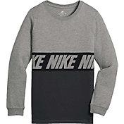 Nike Boys' Sportswear Advance 15 Long Sleeve Shirt