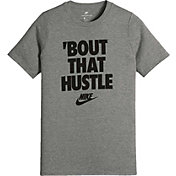Nike Boys' Sportswear Hustle Graphic T-Shirt