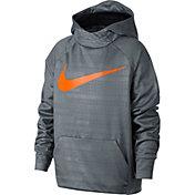 Nike Boys' Therma Printed Hoodie