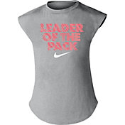 Nike Little Girls' Leader Of The Pack Graphic Dri-FIT T-Shirt