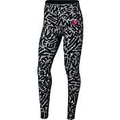 Nike Girls' Sportswear Printed Tights